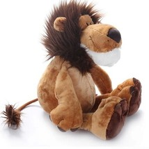 "10""""25CM Hot Sale Popular Lion Stuffed Plush Doll Jungle Series Stuffed ... - $4.46"