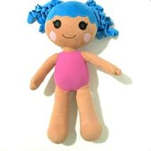 "Build a Bear Lalaloopsy Plush Doll 20"" Blue Hair Pink Body Soft Toy 2015... - $29.92"