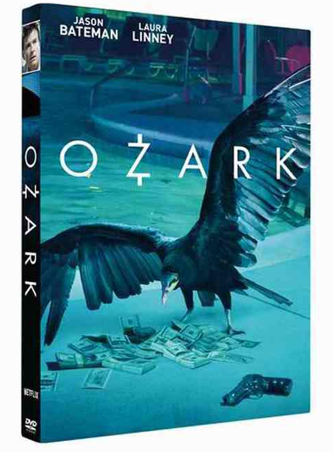 Ozark The Complete First Season 1 One DVD Box Set 3 Disc Free Shipping New