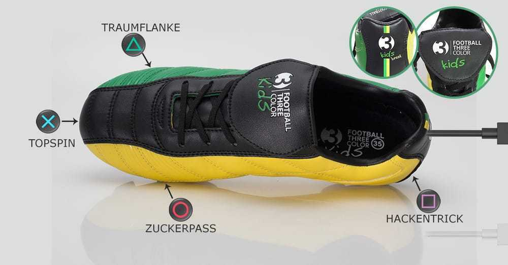 7f2bd13caef Kids Speshel Set Kit Football Shoes 3 Colors Teaching Soccer method + CD +  Cones