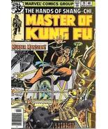 Master of Kung Fu Comic Book #70 Marvel Comics 1978 VERY FINE+ - $4.50