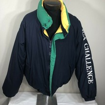 VTG Nautica Challenge Jacket J Class Down Puffer Competition 90s XXL 2XL... - $107.99