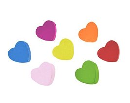 Cute Colorful Heart Shaped Thumbtack Creative Pushpins - $25.12