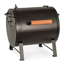 Table Top Charcoal Grill and Side Fire Box, Black - $156.95
