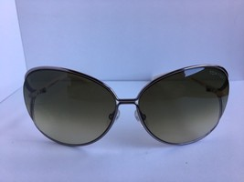 Tom Ford Clemence TF 158 TF158 10P 65mm Gray Oversized Sunglasses Italy T2 - $119.99