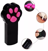 Cute Paw Pet Toy Cat Kitten Laser Pointer Pen Interactive Game Fun LED B... - $3.87