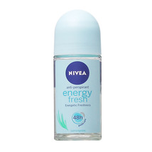 Nivea Energy Fresh roll-on deodorant anti-perspirant 50ml- FREE SHIPPING - $9.45