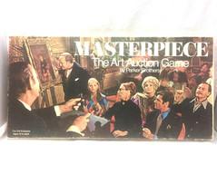 Masterpiece Art Auction Vintage Board Game 1970s COMPLETE - Some Wear Se... - $39.59