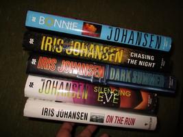 Original Lot of 5 IRIS JOHANSEN Hardcover Thriller Books Novels 332 - $28.95