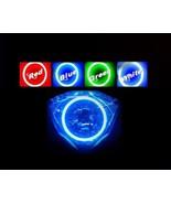 Honda VTX 1800 Headlight Halo Angel Eye Demon LED Plasma COB Light singl... - $59.00