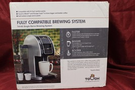 Touch Choice T414S Single Serve Brewing System, New Open Box, #N1 - $186.88