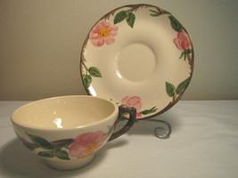 Franciscan Desert Rose Cup & Saucer USA - see full desc - $8.80