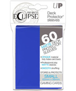 Ultra PRO Matte ECLIPSE Pacific Blue Small Deck Protector Sleeves 60ct U... - $9.50