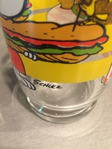 Vintage 1965 Peanuts Snoopy and Woodstock Collectible Glass image 5