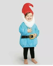 Hyde & Eek- Halloween Baby Infant Pullover Gnome Costume 0-6 Months - $18.40