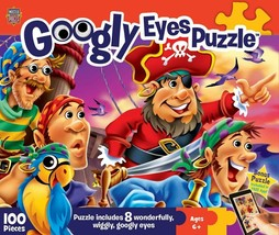 MasterPieces Googly Eyes Pirates Jigsaw Puzzle, 100-Piece - $24.67