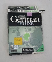 Instant Immersion German Deluxe Set 8 PC CD-ROMs by Topics Entertainment - $16.82
