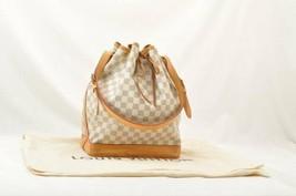 LOUIS VUITTON Damier Azur Noe Shoulder Bag N42222 LV Auth 9980 - $860.00
