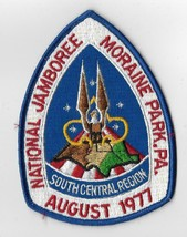 1977 National Jamboree Southcentral Region Jacket patch - $4.95