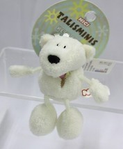 NICI Polar Bear Stuffed Animal Plush Beanbag Key Chain 3 inches - $11.99