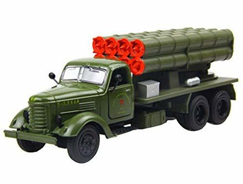 PANDA SUPERSTORE Creative Alloyed 1:36 Military Vehicle Model Toy Cars Boys Gift