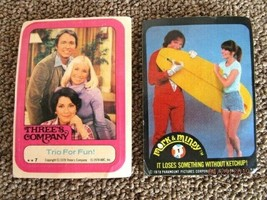 1978 Topps Mork & Mindy #1 & Three's Company Card For One Price - $12.19