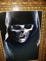 Halloween 3-D Lenticular Talking Light Up Grim Reaper Photo Frame - €17,66 EUR