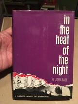 IN THE HEAT OF THE NIGHT by John Ball. 1st.ed. VERY RARE Inscribed. - $1,547.91