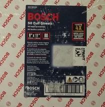 "Bosch SS1W085 9"" x 11"" 80 Grit Sanding Sheet White - $13.86"