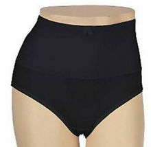 New Carol Wior Microfiber Belly Band Shapewear Brief Panty Qty 6 Assorted Size L image 5