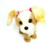 "Fur Real Friends Walking Barking Go Go Dog Brown & White Hasbro 10"" Plus... - $15.00"