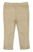 Calvin Klein New Infant Girls Beige Faux Suede Pants 18 Months - $14.84