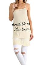 Sale 6 Sizes Cream  Dress Extender, Dress Extenders, Shirt Extender, Upt... - $24.00