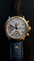Genuine Swiss Watch Maurice Lacroix Croneo Gold Steel, VAL7750, 03291 - $1,500.00