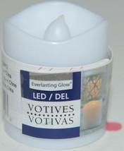 Everlasting Glow 25812 LED Votives Soft Glow Flicker Battery Included Pkg 2 image 2