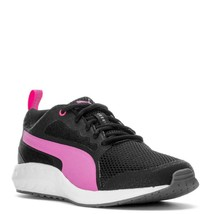 PUMA SWYPE LOW RUNNING SNEAKERS WOMEN SHOES CROW/PINK 189191-01 SIZE 9.5... - $74.24