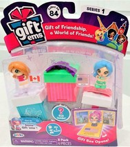 Gift Ems Series 1 Dolls + Boxes 3 Pack Vancouver & Seattle by Jakks - $14.84
