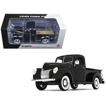 1940 Ford Pickup Truck Black 1/25 Diecast Model Car by First Gear 49-0393 - $65.51