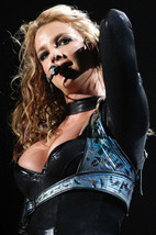 Britney Spears in Concert Leathers Color 24x18 Poster - $23.99