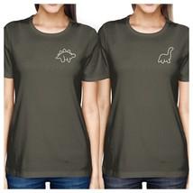 Dinosaurs BFF Matching Dark Grey Shirts - $30.99+