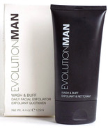 Evolution Man Wash and Buff Daily Exfoliator 4.4oz. - $18.99
