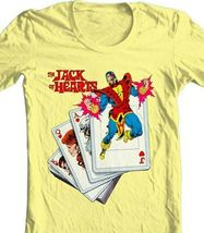 The Jack of Hearts t-shirt marvel comics Defenders retro silver age cotton tee image 4