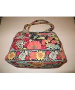 Vera Bradley Happy Snails Zippered Shoulder Bag - $42.56