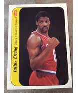 1986 FLEER BASKETBALL STICKER #5 JULIUS ERVING awesome condition free shipping - $12.00