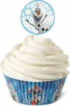 Wilton Disney Frozen Olaf Cupcake Combo Kit Liners & Pics - $2.49