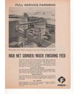 Felco Full Service Farming Grinder/Mixer Feed Hogs 1970 Antique Advertis... - $3.25