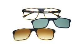 Emporio Armani EA4115 50891W Matte Havana Glasses of View with 2 Clips 54mm - $218.25