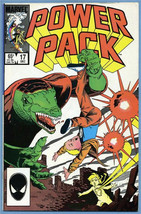 Comic Book Power Pack #17 Marvel 1985 - $0.98