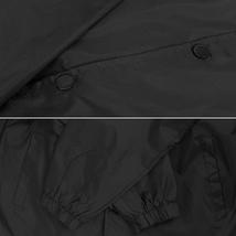 Men's Windbreaker Lightweight Waterproof Sherpa Button Up Athletic Coach Jacket image 12