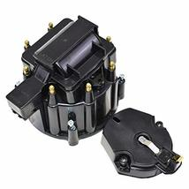 A-Team Performance CR6951BK 8-cylinder HEI OEM Distributor Cap, Rotor and Coil C